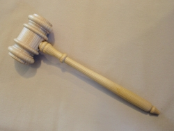 Oak Gavel