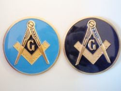 Masonic (Blue Lodge) Car Emblem