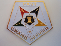 Eastern Star Past Grand Officer Car Emblem