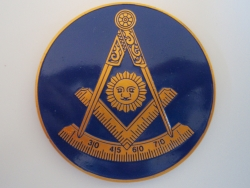 Past Master w/Square Car Emblem
