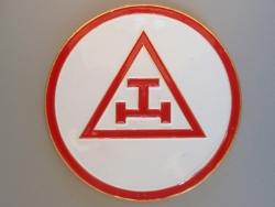 Triple Tau Car Emblem