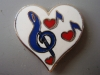 Heart with Clef & Notes