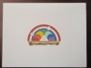 Rainbow Note Cards & Envelopes