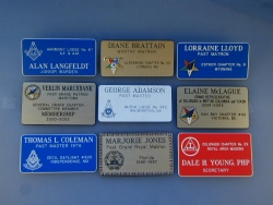 Standard Rectangle Badges